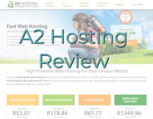 My A2 Hosting review featured image