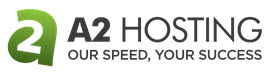 The logo of A2 Hosting